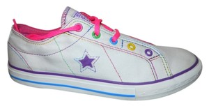 Converse white multi color Athletic