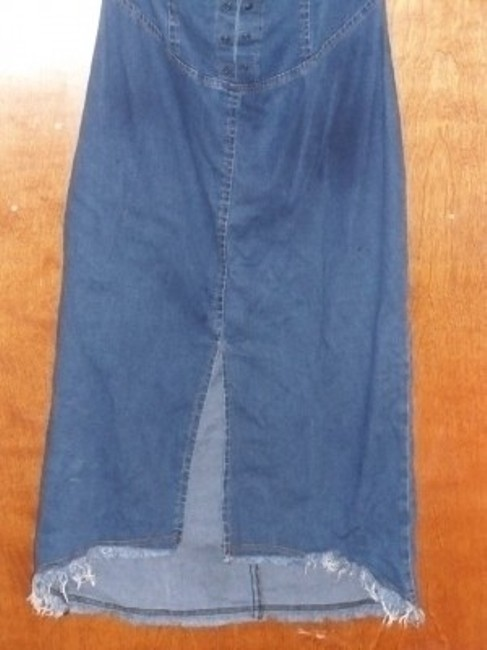 The Blues short dress Denim Retro Vintage Mad Men 1950s 50's Rockabilly Country on Tradesy