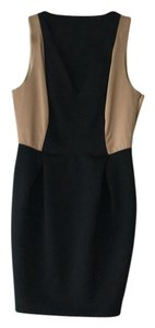 Sachin + Babi short dress Black/ taupe on Tradesy