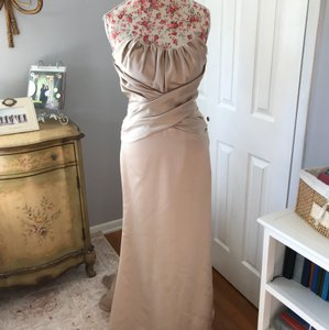 Jim Hjelm Occasions Cashmere Satin Formal Bridesmaid/Mob Dress Size 6 (S)