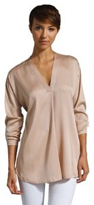 Vince Silk Top Blush nude