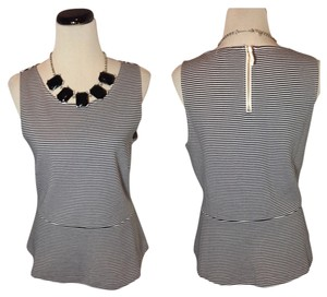 J.Crew Top Black and Ivory