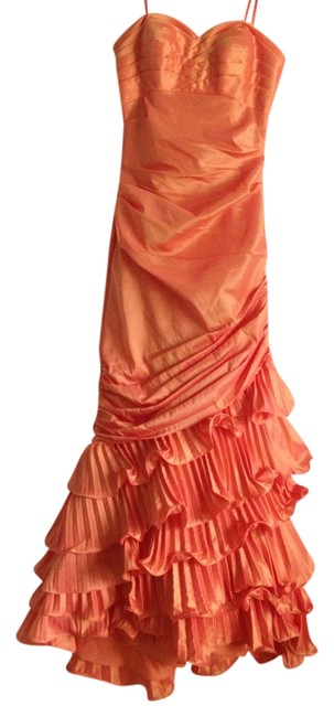 Preload https://item2.tradesy.com/images/cache-orange-iridescent-long-formal-dress-size-4-s-970866-0-0.jpg?width=400&height=650