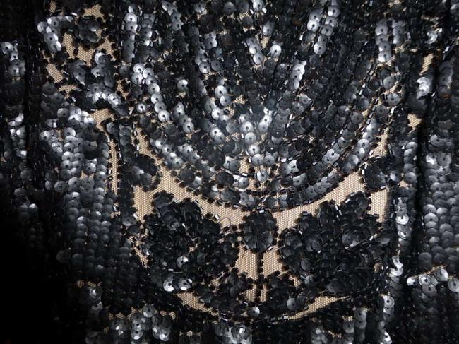 Carmen Marc Valvo Beaded Dress