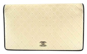 Chanel SOLD SOHO 080516 GR Two Tone Caviar Wallet CCWLM24