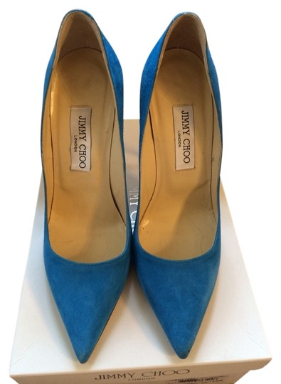 Preload https://item3.tradesy.com/images/jimmy-choo-turquoise-blue-green-pumps-971082-0-0.jpg?width=440&height=440