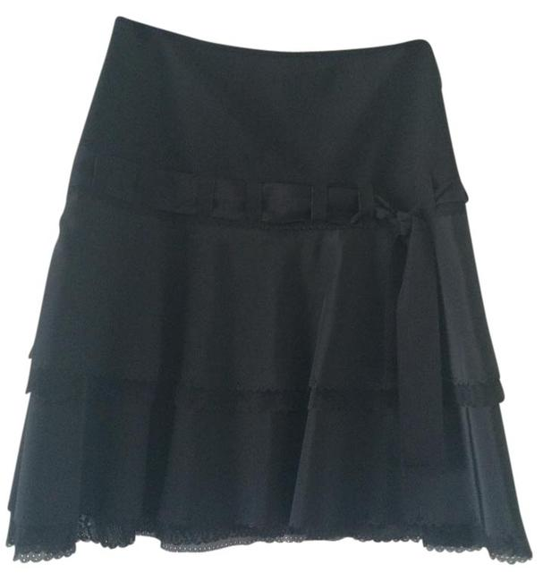 Elie Tahari Mini Skirt Black