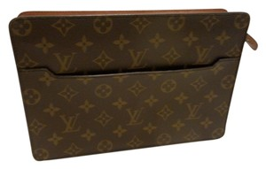 Louis Vuitton Homme Zip Vintage Lv Unisex monogram Clutch