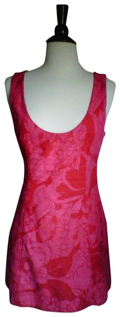 Free People short dress Red / Hot Pink on Tradesy