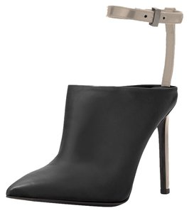 Vince Heel Women Ankle Fashion Pumps Black Boots