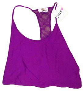 Derek Heart Top Purple