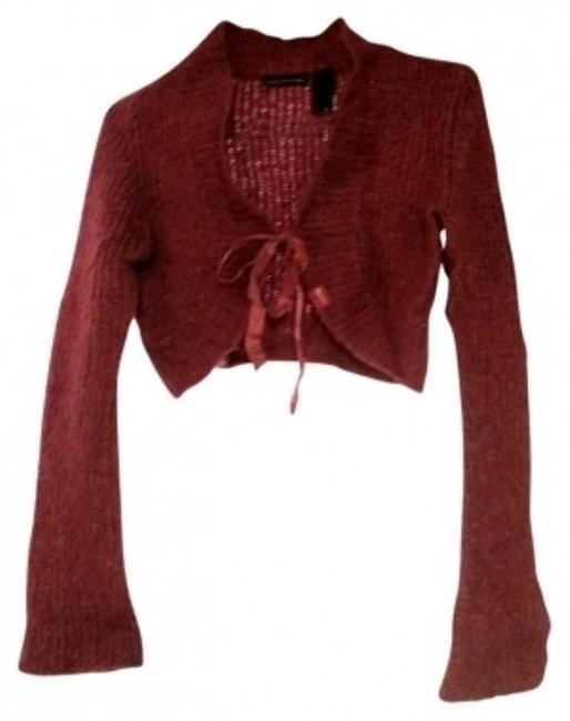 Preload https://item2.tradesy.com/images/dkny-pink-metallic-knit-wool-sweater-valentine-s-day-cardigan-size-8-m-97111-0-0.jpg?width=400&height=650