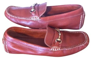 Cole Haan Leather Loafers Moccasins Brown Flats