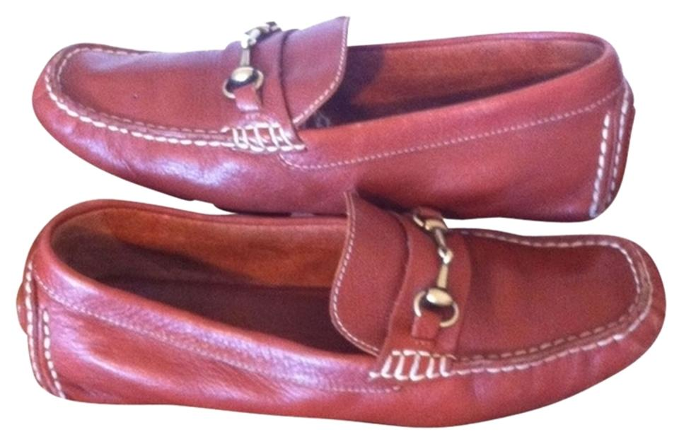e35f531ce2f Cole Haan Brown Leather Flats Loafers Flats Size US 7.5 Regular (M ...
