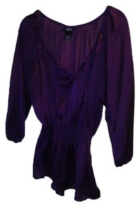 Allison Morgan Top Purple