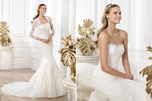 Pronovias Lanete Wedding Dress