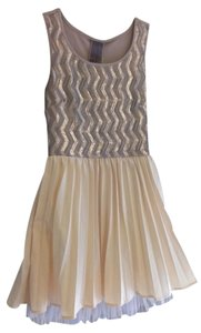 Moon Collection short dress Modcloth Gold and Bronze Sparkly Sequined Shimmery Party New Years Summer on Tradesy