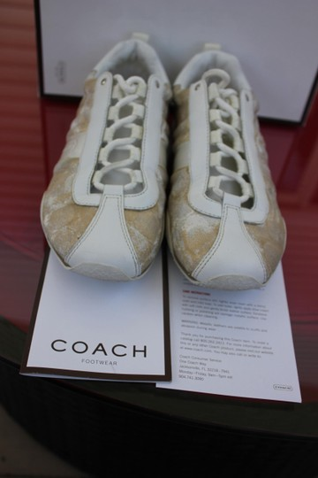 Coach WHITE / GOLD Athletic