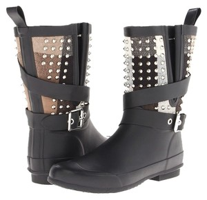 Burberry Limited Edition Studded Monogram Boots