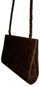 Beth Levine Croc Leather Leather Leather Shoulder Bag