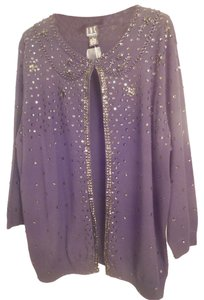 INC International Concepts Plus-size Hand Beaded Dressy New With Tags Cardigan