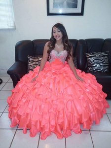 Orange Princess Dress