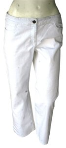 Eileen Fisher Straight Pants White