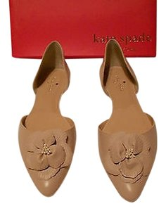 Kate Spade Elysee Lovely D'orsay Flat Pale Pink Flats