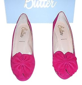 Butter Patton Scalloped Design Sophisticated Made In Italy Ruby Wedges