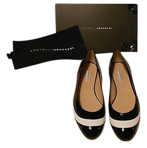 Fratelli Rossetti Sophisticated Design Black/White Flats