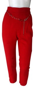 Hide Desan Straight Pants Red