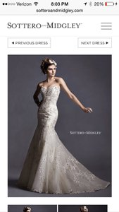 Maggie Sottero Maddalena Wedding Dress