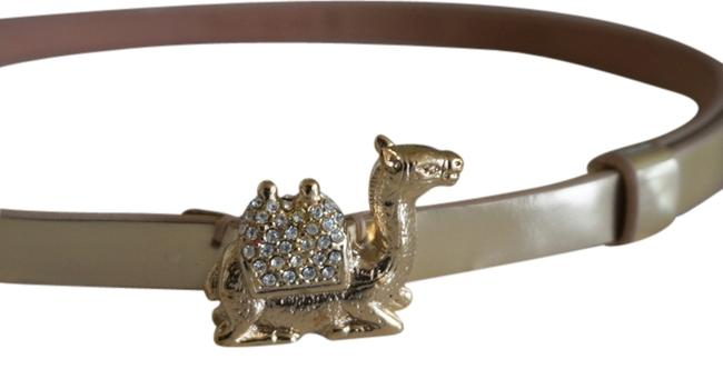 Item - Gold Rock The Casbah Leather with Plated Camel Belt