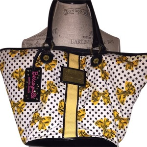 Betseyville by Betsey Johnson Yellow Travel Bag
