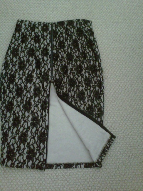 ANGL Skirt Black / Beige