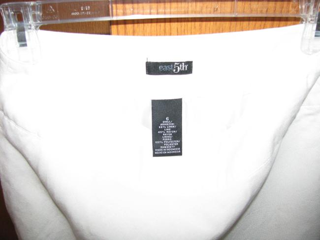 East 5th Essentials Skirt White