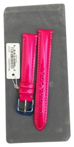 Michele NWT Michele Pink Leather Band Strap 16 Mm MS16AA050671
