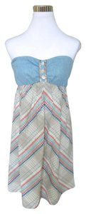 O'Neill short dress Blue Denim Beach on Tradesy