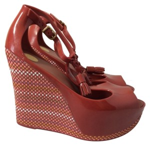Melissa Red Wedges