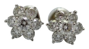 Style Gem Diamonds Diamond Flower Earrings