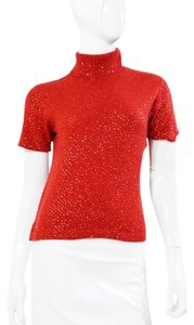Votre Nom Large Sequin Cashmere Sweater
