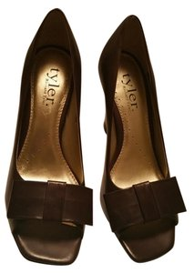Richard Tyler Peep Toe Peep Toe Leather Leather brown Pumps