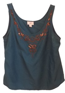 Ann Taylor LOFT Top Blue