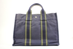 Hermès Tote in navy blue