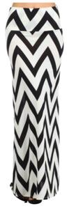 Buskins Maxi Skirt Black & White