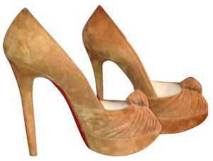 Christian Louboutin Brown Platforms