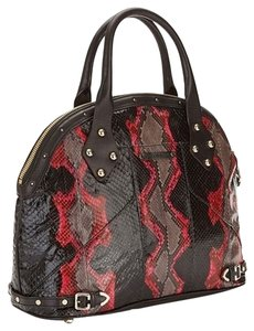 Rebecca Minkoff Satchel in Black Red