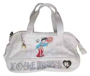 Harajuku Lovers Tote in white