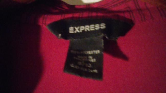 Express short dress Red and black on Tradesy