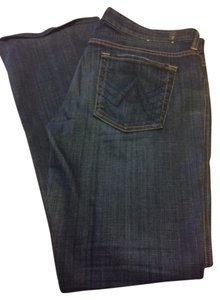 7 For All Mankind Denim Classic Lexie Designer Boot Cut Pants
